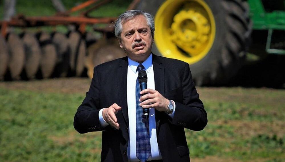 Alberto Fernández ley agroindustrial
