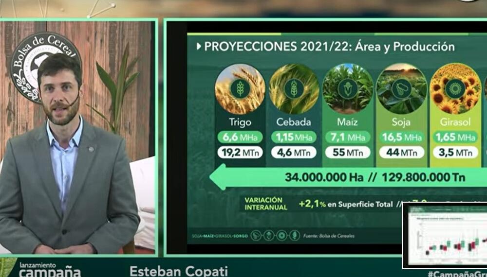 Presentacion de la campaña gruesa - Bolsa de Cereales - Esteban Copati