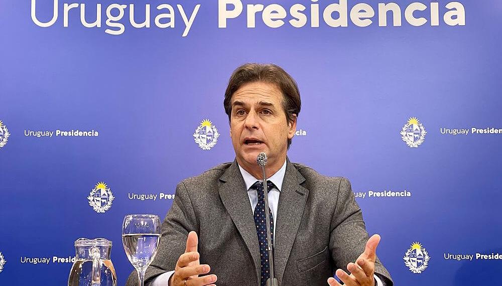 El presidente de Uruguay, Luis Lacalle Pou - China