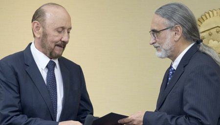 Reunion entre Martin Guzman y Julian Dominguez