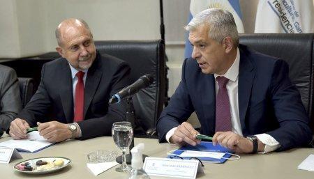 Reunion entre Dominguez, gobernadores y Mesa de Enlace