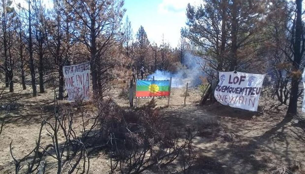 Mapuches toma