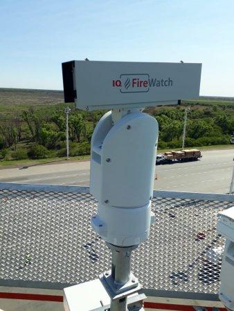 Camara multiespectral instalada en el Delta