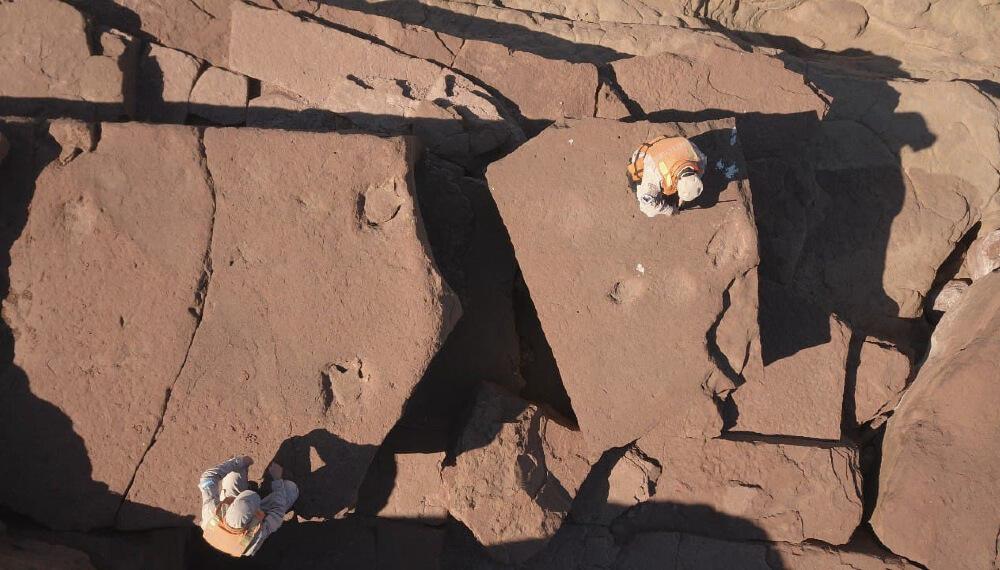Huellas prehistoricas
