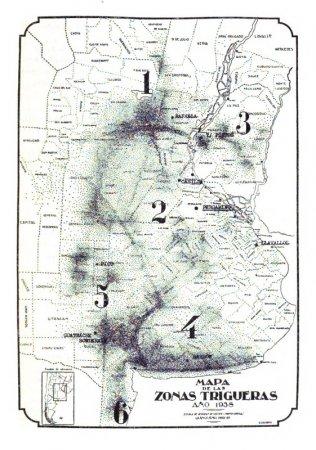 Mapa de 1938