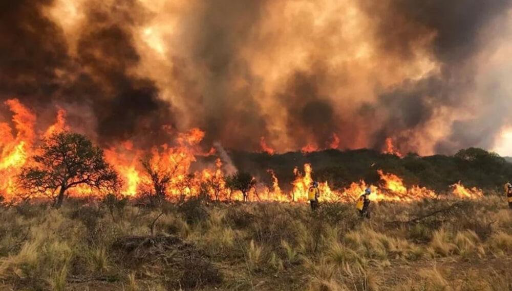 San Luis incendios