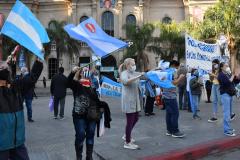 Telam Córdoba 20/06/2020 Movilización en Córdoba en contra de expropiación de Vicentin foto Laura Lescano